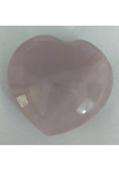 HEART Handmade in Rose Quartz BIG 258g Craft MINERALS Crystals-1