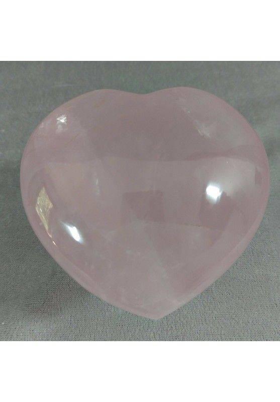 HEART Handmade in Rose Quartz BIG 258g Craft MINERALS Crystals-2