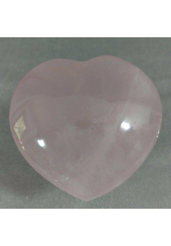 HEART Handmade in Rose Quartz BIG 258g Craft MINERALS Crystals−3