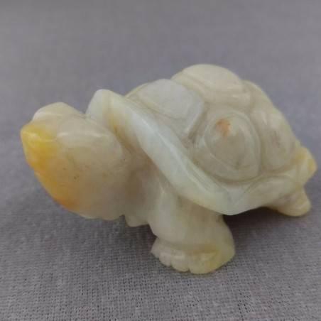 BIG Turtle in HELIOLITE SUN STONE Minerals ANIMALS MINERALS Home-1