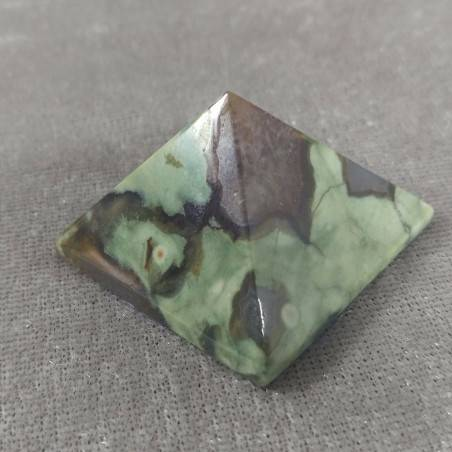 PYRAMID in AGATE Natural Point Statue MINERALS Crystal Healing Chakra Wicca−3