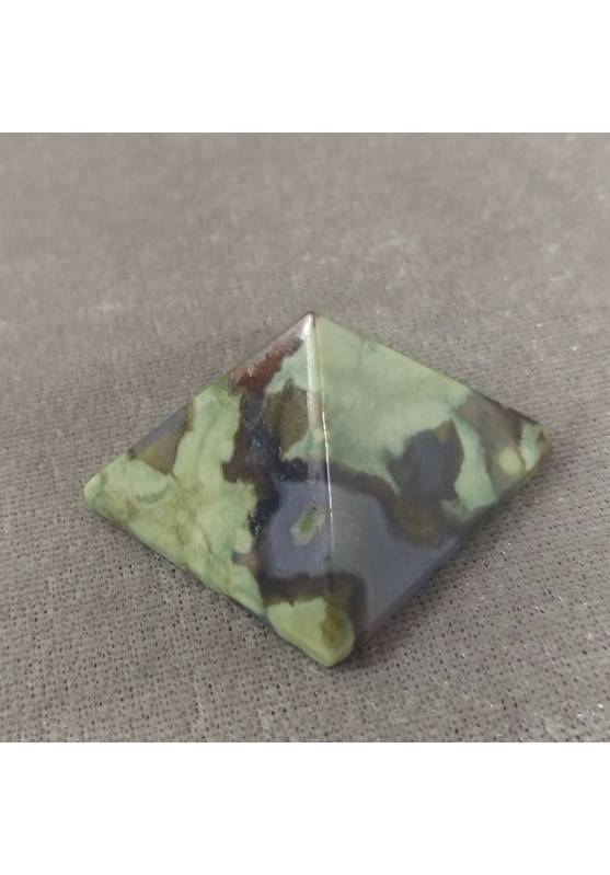 PYRAMID in AGATE Natural Point Statue MINERALS Crystal Healing Chakra Wicca-4