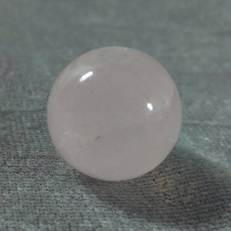 Mini Sphere in Rose Quartz Ball Crystal Healing MINERALS LOVE Sessualità Zen-4