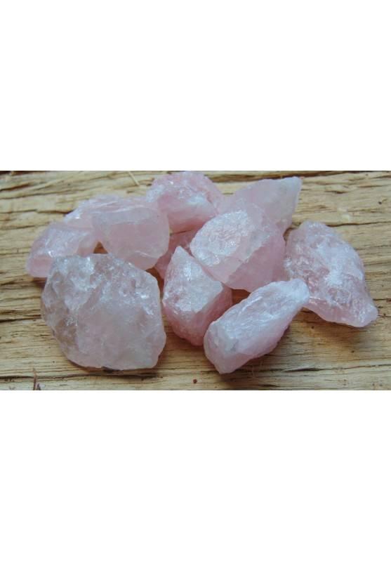 Quarzo Rosa Grezzo Minerali Cristalloterapia A+ [PAGHI UNA SOLA SPEDIZIONE]-1