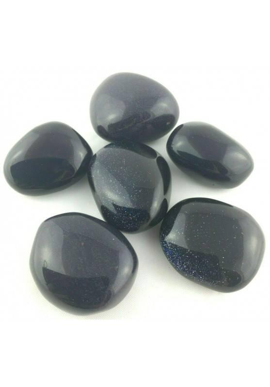 SUN STONE / Blue Aventurine Tumbled Stone Crystal Crystal Healing MINERALS-1