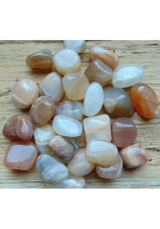Moon Stone o Adularia Tumbled Stone Crystal Crystal Healing MINERALS Chakra-1