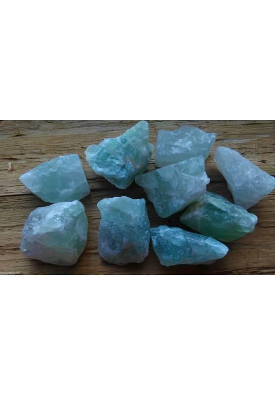 Rough Green Fluorite Crystal Healing MINERALS Gemstone Crystals Stone A+-1