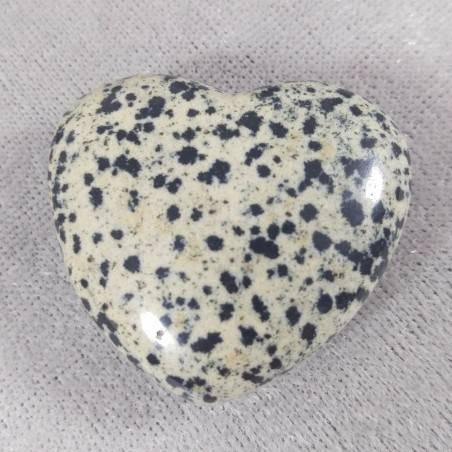 HEART in Dalmatian JASPER Dalmatine LOVE Crystal Healing Chakra Reiki MINERALS-2