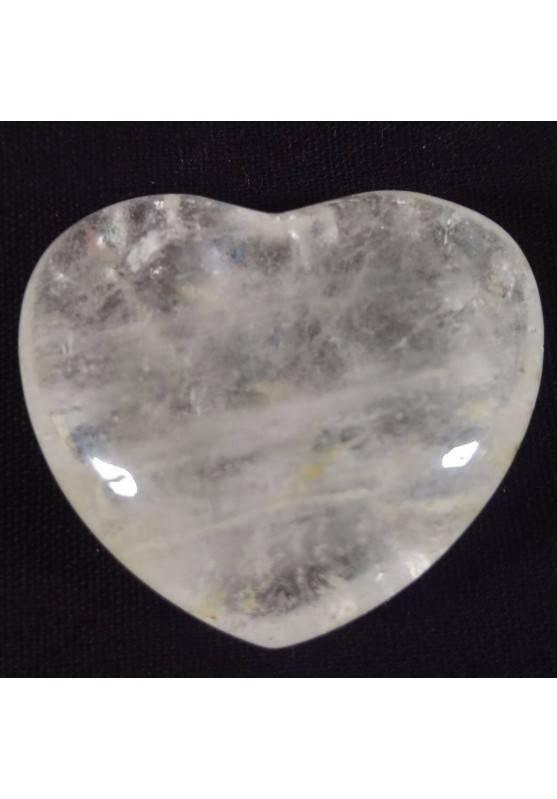 HEART in Rose Quartz Stone of LOVE Crystal Healing Massage Reiki MINERALS-1