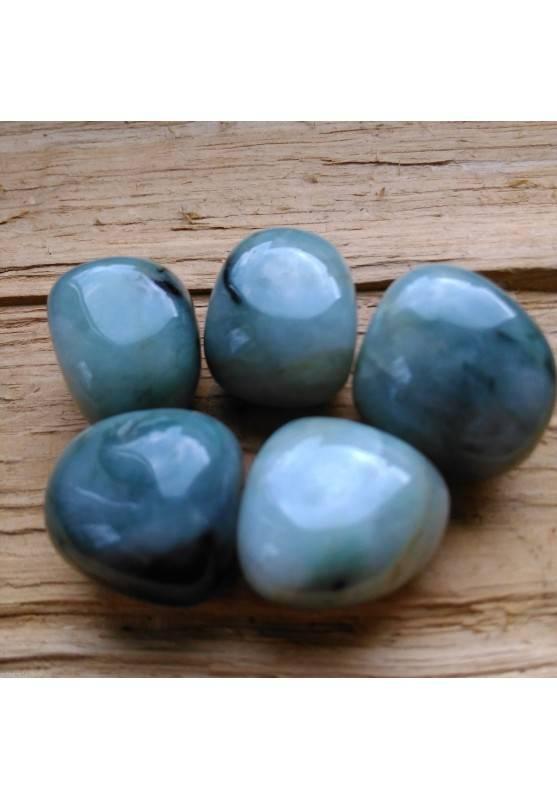 Tumbled EMERALD BIG Precious Chakra Gemstone MINERALS Crystal Healing Gift Idea-1