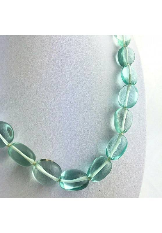 Collana Perle di Ossidiana Burattato Ciondolo Cristalloterapia Chakra Gioiello-2