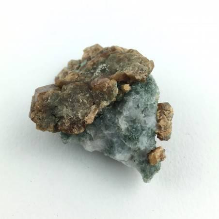 * Minerali Storici * Grossularia Pietra con Quarzo - Val Camonica - Braone-4