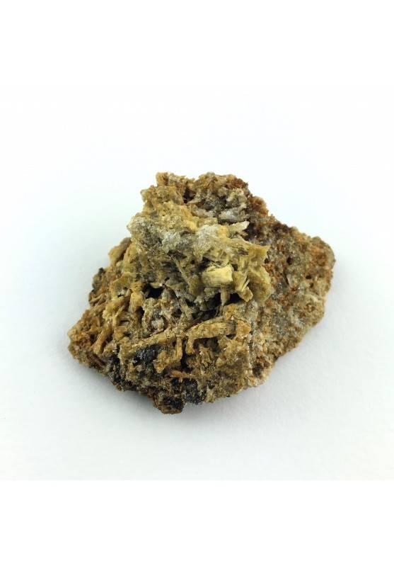* Minerale Storico * Rutilo Pietra - Italia - Marrone Chiaro Cristallo-1