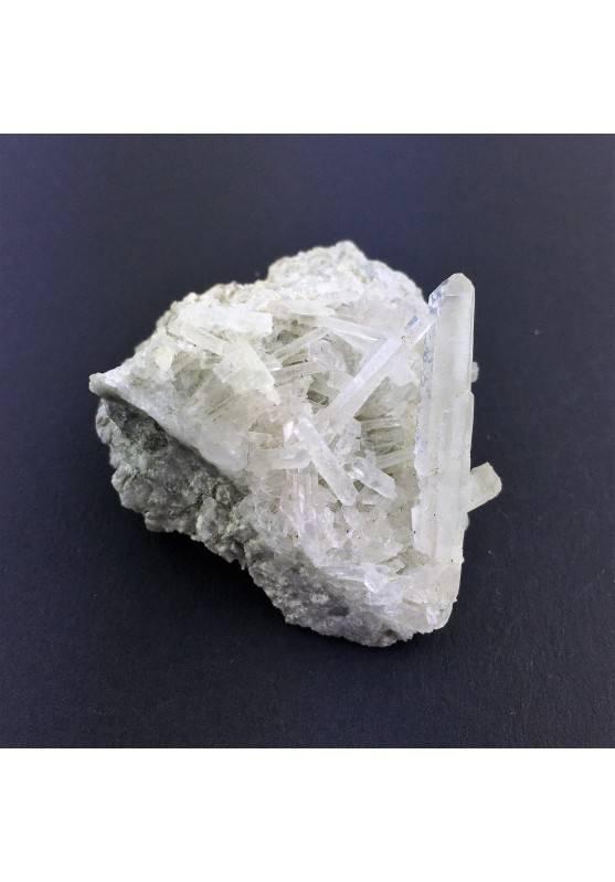 * Minerali Storici * Punte di Quarzo Ialino su Matrice - Svizzera Minerale-1