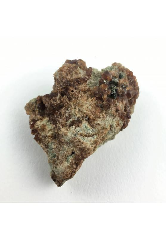 * Minerali Storici * Cristalli di GRANATO su Matrice Cengia del Cavallo-1