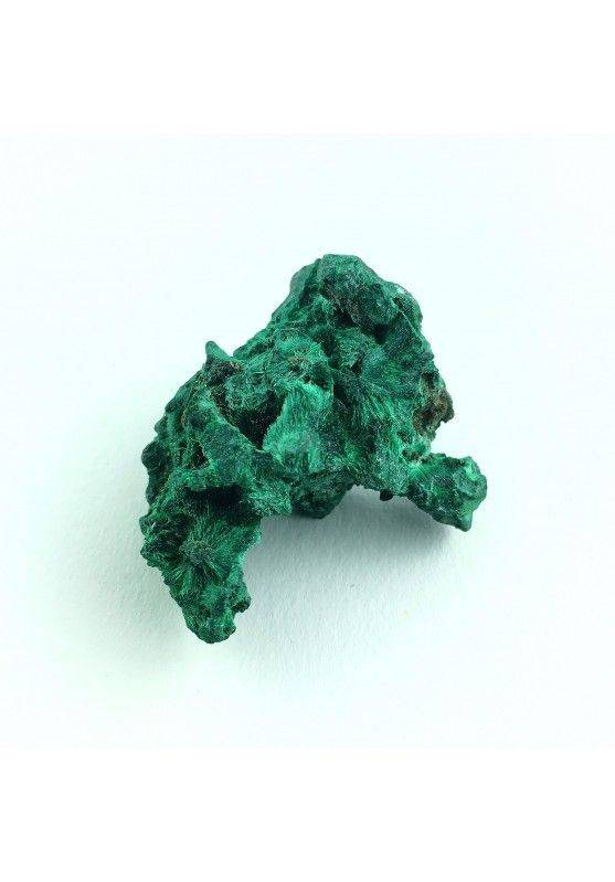 * MINERALS * Iridescent MALACHITE Velvet Rough Mineral Crystal Healing 21gr High Quality-1