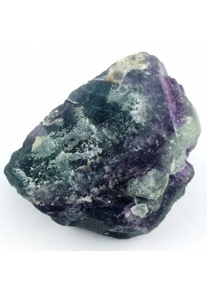 LARGE Piece in RAINBOW FLUORITE Green - Purple Specimen Chakra Quality A+-1