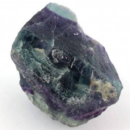 GRANDE pezzo di FLUORITE MISTA Verde - Viola Collezionismo Chakra Qualità A+-2