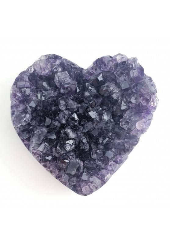 Heart Purple Amethyst Druzy High Quality A+ LOVE Crystal Healing Minerals & Specimens-1