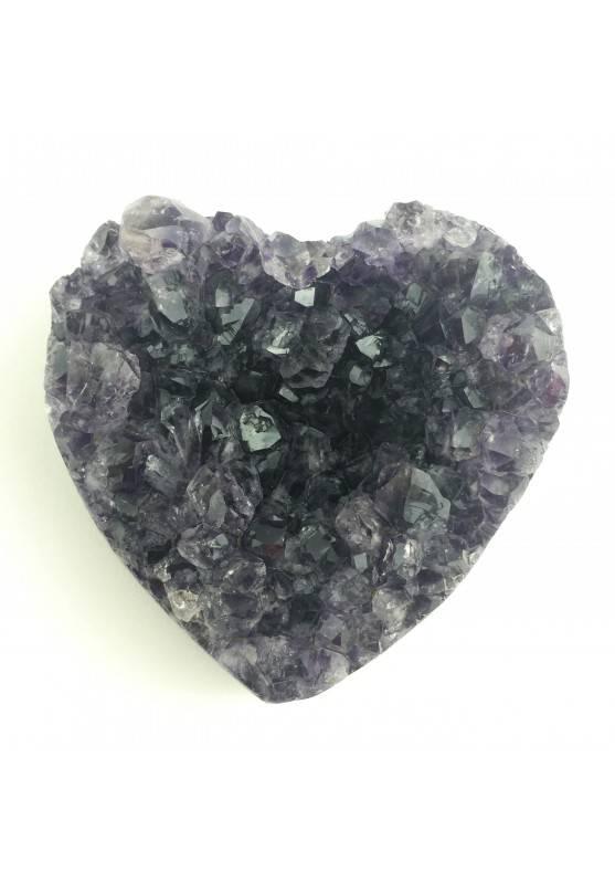 Wonderful Heart Amethyst Druzy Crystals High Quality A+ Crystal Healing-1