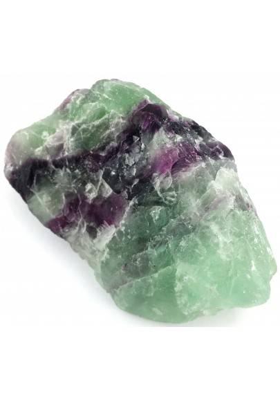 LARGE Piece in RAINBOW FLUORITE Green - Purple Specimen Crystal Healing A+-1