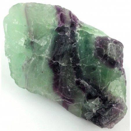 LARGE Piece in RAINBOW FLUORITE Green - Purple Specimen Crystal Healing A+-2