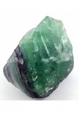 GRANDE pezzo di FLUORITE MISTA Verde - Viola Collezionismo Chakra Reiki Zen A+-1