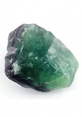 GRANDE pezzo di FLUORITE MISTA Verde - Viola Collezionismo Chakra Reiki Zen A+-2