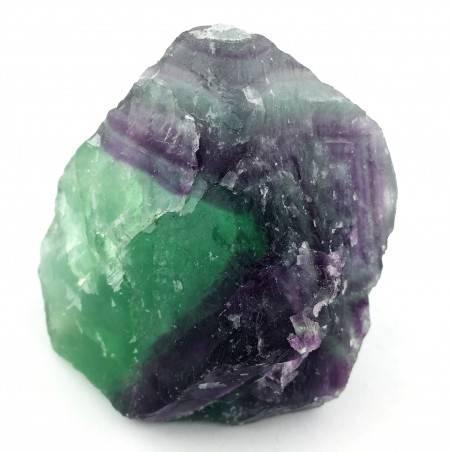 GRANDE pezzo di FLUORITE MISTA Verde - Viola Collezionismo Chakra Reiki Zen A+-3