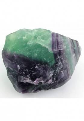 GRANDE pezzo di FLUORITE MISTA Verde - Viola Collezionismo Chakra Reiki Zen A+-4