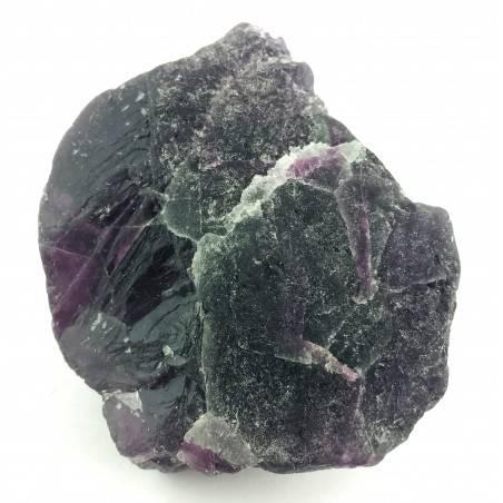LARGE Piece in RAINBOW FLUORITE Green - Purple Specimen Crystal Healing Zen-2