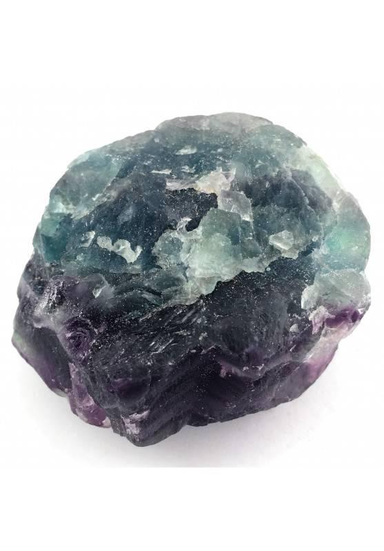 GRANDE pezzo di FLUORITE MISTA Verde - Viola Collezionismo Cristalloterapia Zen-3
