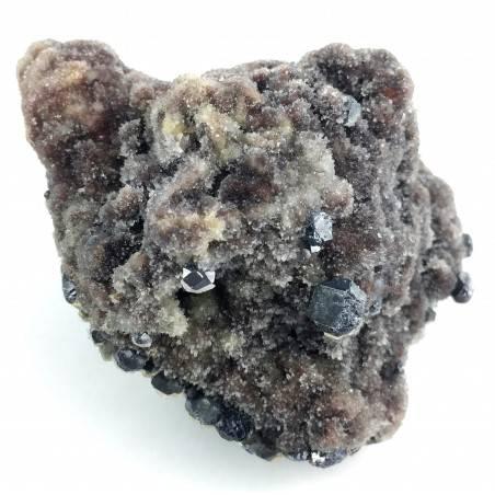 Sphalerite Gems in Crystalized Quartz Specimen Chakra Zen Quality Stone Minerals A+-2