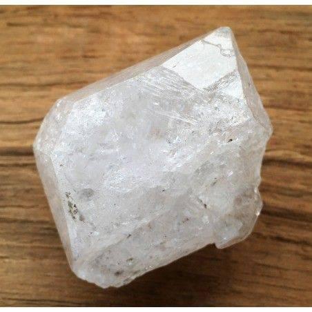 BIG Diamond in ELESTIAL QUARTZ HYALINE Double Terminated Specimen Quality A+-1