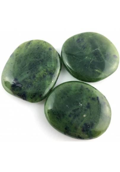 Palmstone in Nephrite Jade Tumbled Stone Palmstone Crystal Healing Jade Nephrite-1