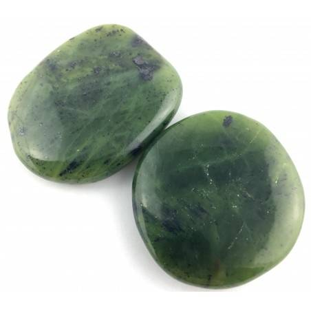 Palmstone in Nephrite Jade Tumbled Stone Palmstone Crystal Healing Jade Nephrite-2
