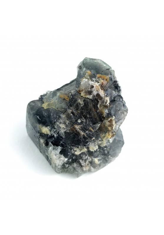 * MINERALI * Fluorite Cubica Fluorescente Cristalloterapia 43gr Alta Qualità A+-1