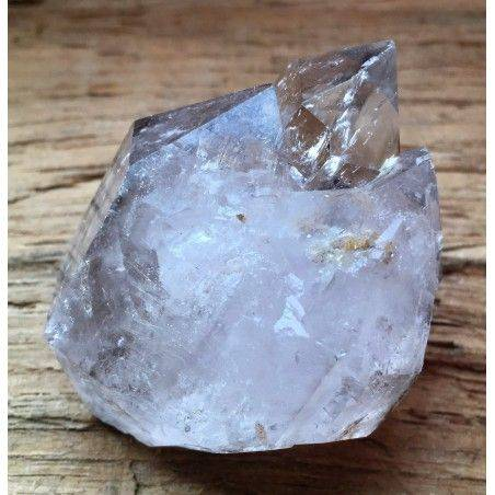 * MINERALS * Double Terminated Rock QUARTZ Crystal Crystal Healing A+-2
