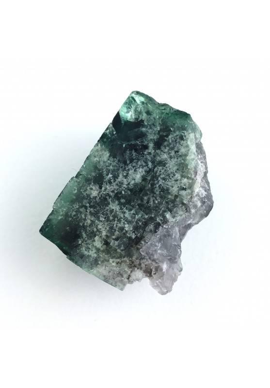 * MINERALI * Fluorite Cubica Fluorescente Collezionismo Rogerley Mine - 44gr A+-1