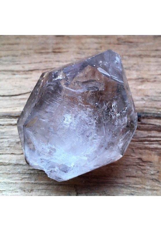 * MINERALI * Biterminato QUARZO IALINO Cristallo di Rocca Chakra Zen Qualità A+-1
