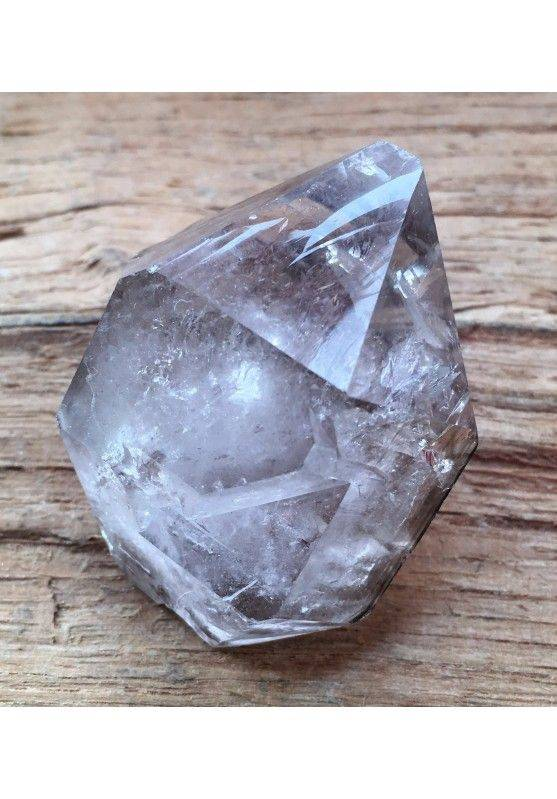 * MINERALS * Double Terminated Hyaline Quartz Rough Crystal Chakra Zen Quality A+-2