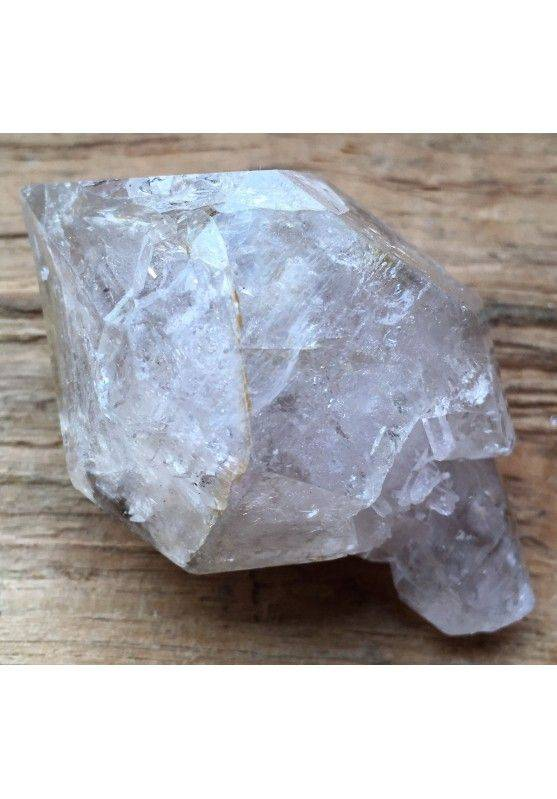 * MINERALS * Double Terminated QUARTZ Rock CRYSTAL A+ Crystal Healing-2