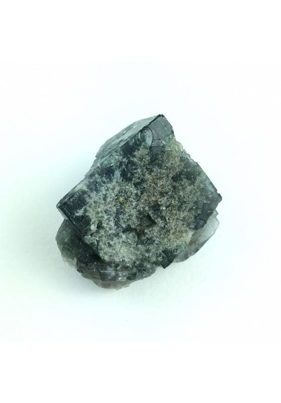 Fluorite Cubica Viola Fluorescente 42gr Cm.3,5 x Cm.3 x Cm. 2,7 Alta Qualità-1