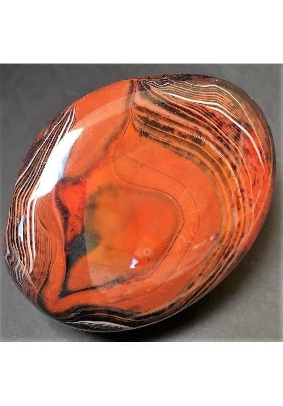 Wonderful CARNELIAN AGATE from Madagascar Rare Piece BIG Specimen A+ Zen-3