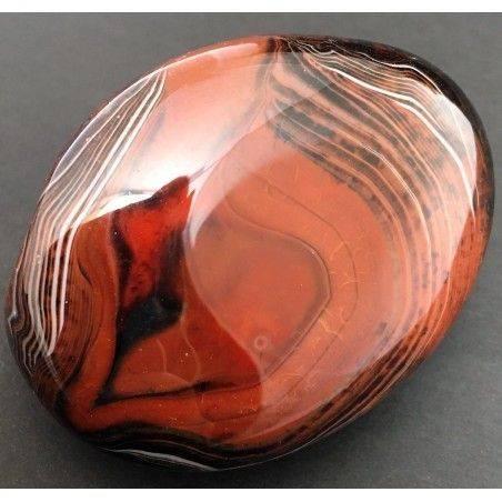Wonderful CARNELIAN AGATE from Madagascar Rare Piece BIG Specimen A+ Zen-6