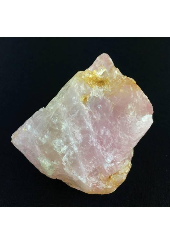 Blocco Grande Quarzo Rosa Aggregato Cristalloterapia 164gr Minerale Naturale-1