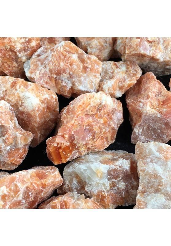 Calcite Arancio - Orchidea Grezza Cristallo Chakra Ciondolo Cristalloterapia A+-1