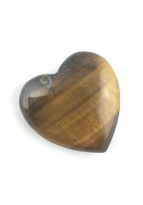 Wonderful HEART in Tiger's EYE LOVE Valentine's Day Quality Crystal Healing-1