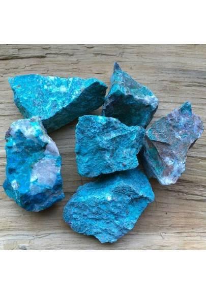 ROUGH Chrysocolla MID SIZE MINERALS Medium Crystal Healing Chakra Reiki A+-1