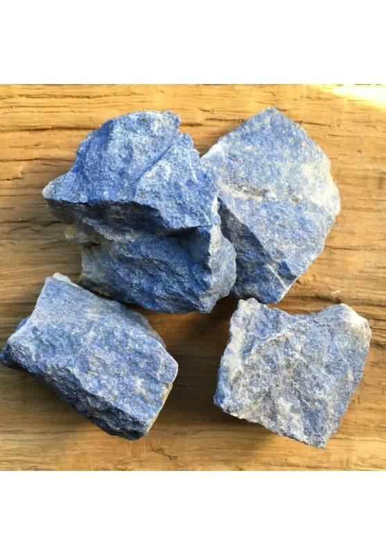 LARGE Rough DUMORTIERITE Quartz Angelite MINERALS Crystal Healing Chakra Reiki A+-1